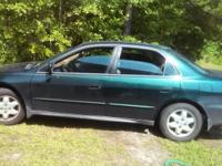 Selling my 2001 Honda accord. Great running car.just