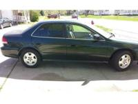 2001 Honda Accord V6. In Excellent Disorder.