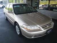 Options Included: Leather Interior SurfaceThis 2001