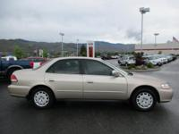 Options:  2001 Honda Accord Sdn Lx|Front Wheel Drive|