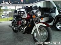 This 2001 Honda VT750CD2 ROAD - STREET . The vehicle is