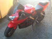 2001 HONDA CB900 NEEDS CASE FIXED ASKING $1,200 FOR