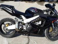 2001 Honda CBR929RR Low miles for year Once again the