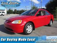 New Arrival! CRUISE CONTROL. This 2001 Honda Civic has
