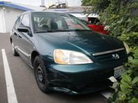 New Price! 2001 Honda Civic DX 38/30 Highway/City MPG**