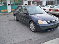 Options Included: CD Player, Moon Roof2001 HONDA CIVIC