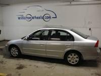 Options Included: N/AThis CarFax certified 2001 Honda
