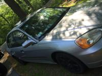 Currently selling 01 Honda civic in hopes of finding