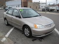 Options Included: AWESOME DEAL! THIS IS A 2001 HONDA