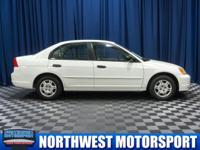 Clean Carfax Sedan with Power Options!  Options:  Front