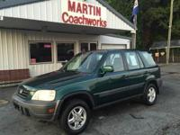 2001 Honda CR-V 4 door SUV. 2.0L automatic 4 speed.