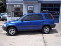 Options Included: SUPER NICE CRV!!! This is a 2001