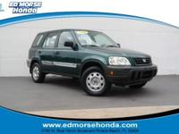 This outstanding example of a 2001 Honda CR-V LX is