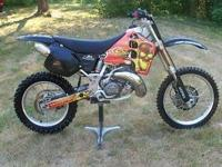 for sale: 2001 Honda CR500R very low hours mint