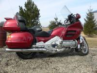 I have a real nice fuel injected 1800 gold wing for