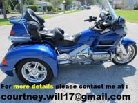 FOR SALE IS A VERY NICE 2001 GL1800 GOLDWING WITH A
