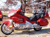 2001 honda goldwing 1800, well maintained and never