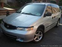 Make:  Honda Model:  Odyssey Year:
