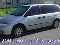 I am selling our 2001 Honda Odyssey EX Minivan because