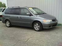 Options Included: N/AThis 2001 Honda Odyssey may have
