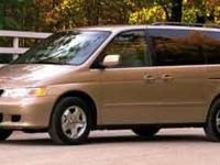 Looking for a clean, well-cared for 2001 Honda Odyssey?