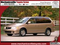 Exterior Color: beige, Body: EX 4dr Minivan, Engine: