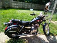 I'm selling my 2001 Honda Rebel motorcycle. This bike