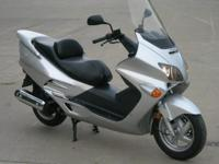 2001 Honda Reflex 500 Scooter in Silver, Only $1995 at