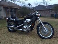 2001 Honda shadow vlx deluxe 600cc good tires 22000