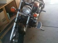 Selling a 2001 Honda Shadow for 3,000 OBO, or trade,