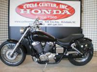 2001 Honda Shadow Ace 750 Deluxe Cool Rat Style Bike!