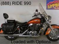 2001 Honda Shadow Ace Deluxe for sale with tons of