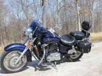 I have a super nice, 2001 Honda Shadow Sabre 1100