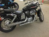 Motorcycles Cruiser 7099 PSN . 2001 Honda Shadow Spirit