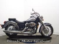 2001 Honda VT750CD1 Shadow Ace with 6,100 Miles. This