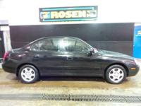 Look at this 2001 Hyundai Elantra GLS. Its transmission