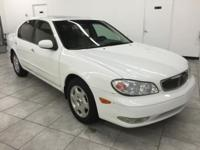 2001 INFINITI I30 WHITE 4DR ! FAMILY SIZE! LOADED!
