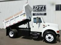 Great Running Clean Dump Truck With Only 63K Miles.