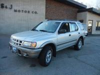 Low miles on this 01 Isuzu Rodeo plus a low price!!! It