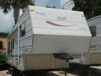 YOU ARE LOOKING AT A VERY WELL CARED FOR 27 2001 JAYCO