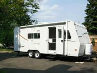 For sale is a good utilized 2001 Jayco Kiwi 23B. The