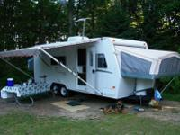 For sale is a good used 2001 Jayco Kiwi 23B. The system