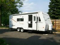 WOOW....For sale is a nice used 2001 Jayco Kiwi 23B.