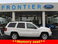 New Price! Grand Cherokee Limited, PowerTech 4.7L V8,