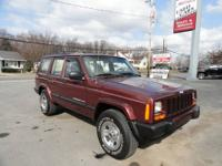 2001 Jeep Cherokee SUV 4X4 Sport Our Location is: Mike