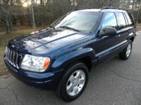 2001 Jeep Grand Cherokee Limited 4x4 4.0 L Inline 6cyl.