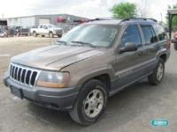 Options Included: N/AJeep Grand Cherokee SW L6 4.0L -