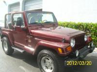 Descripción Marca: Jeep Modelo: Wrangler Año: 2001 VIN: