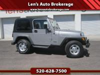 Options:  2001 Jeep Wrangler Clean Hard Top Jeep With