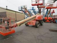 2001 JLG 600S 4x4 diesel telescopic boom lift, 60'